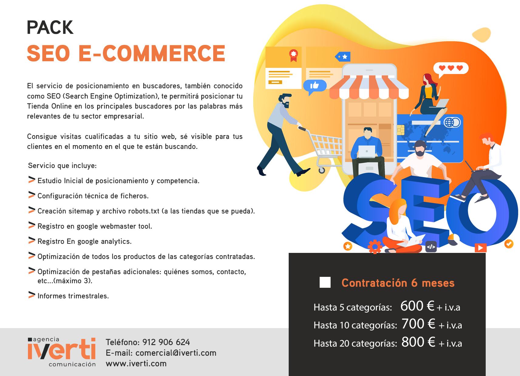 Pack Seo Ecommerce